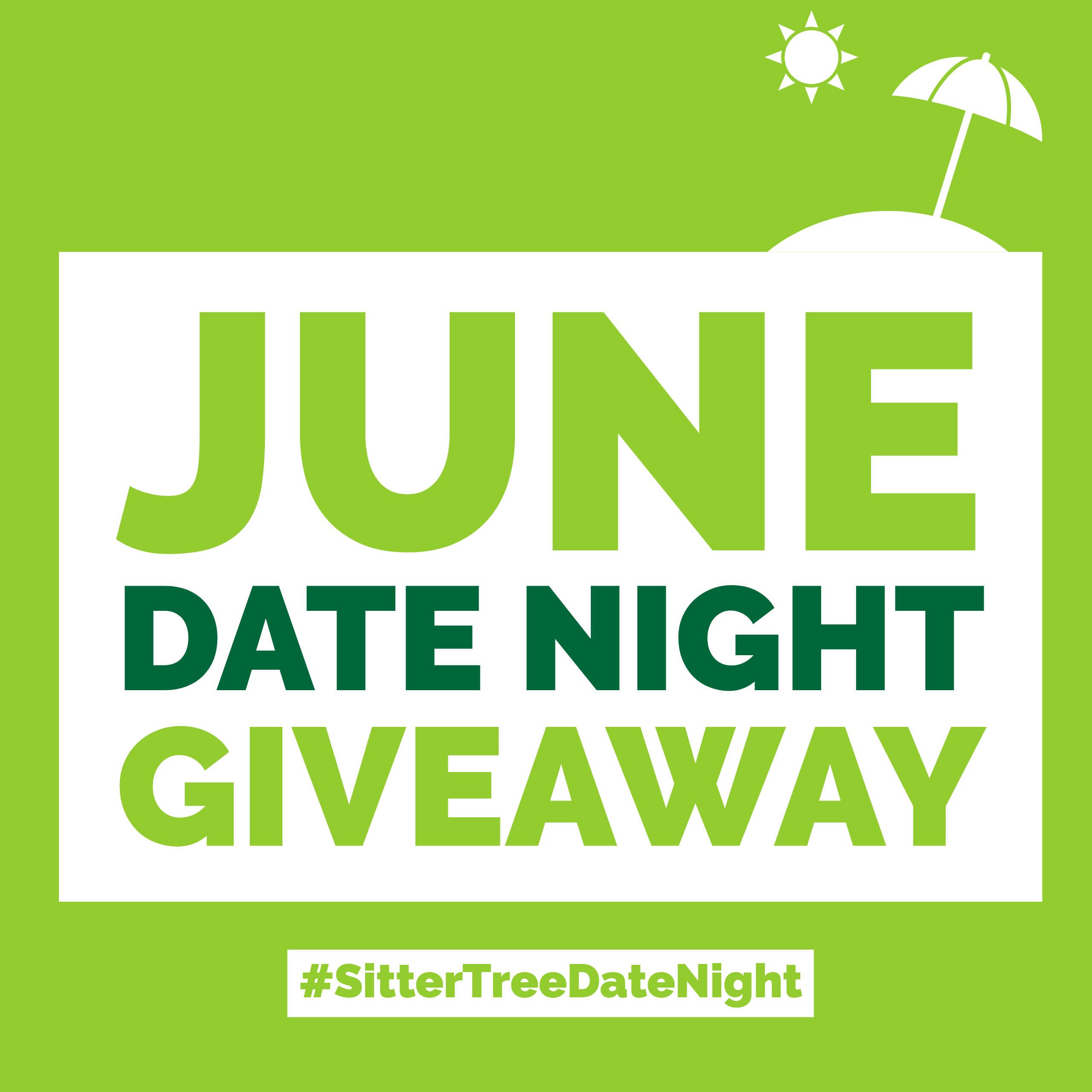 June Date Night Giveaway: FREE Babysitting + $100 Gift card