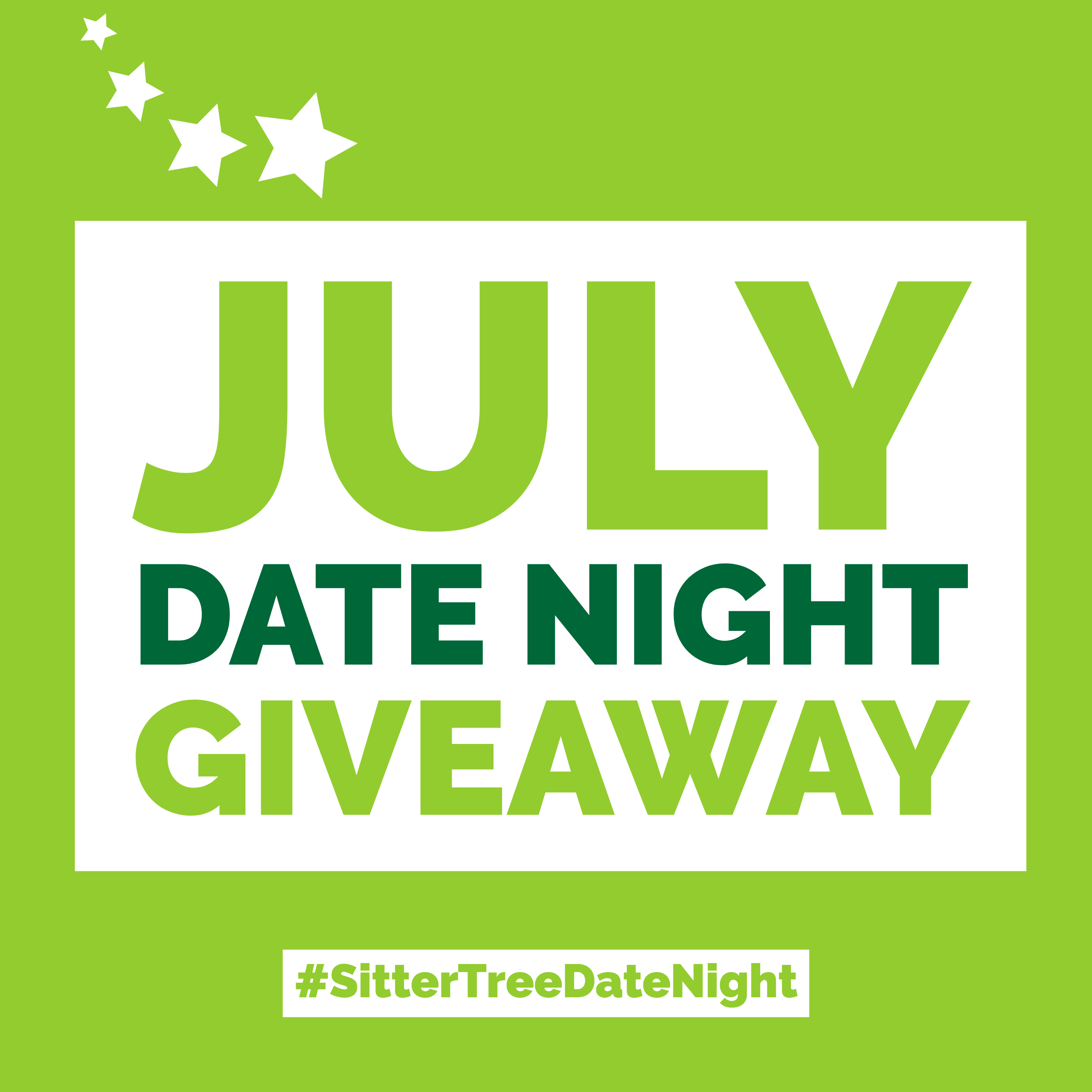July Date Night Giveaway: FREE Babysitting + $100 Gift card