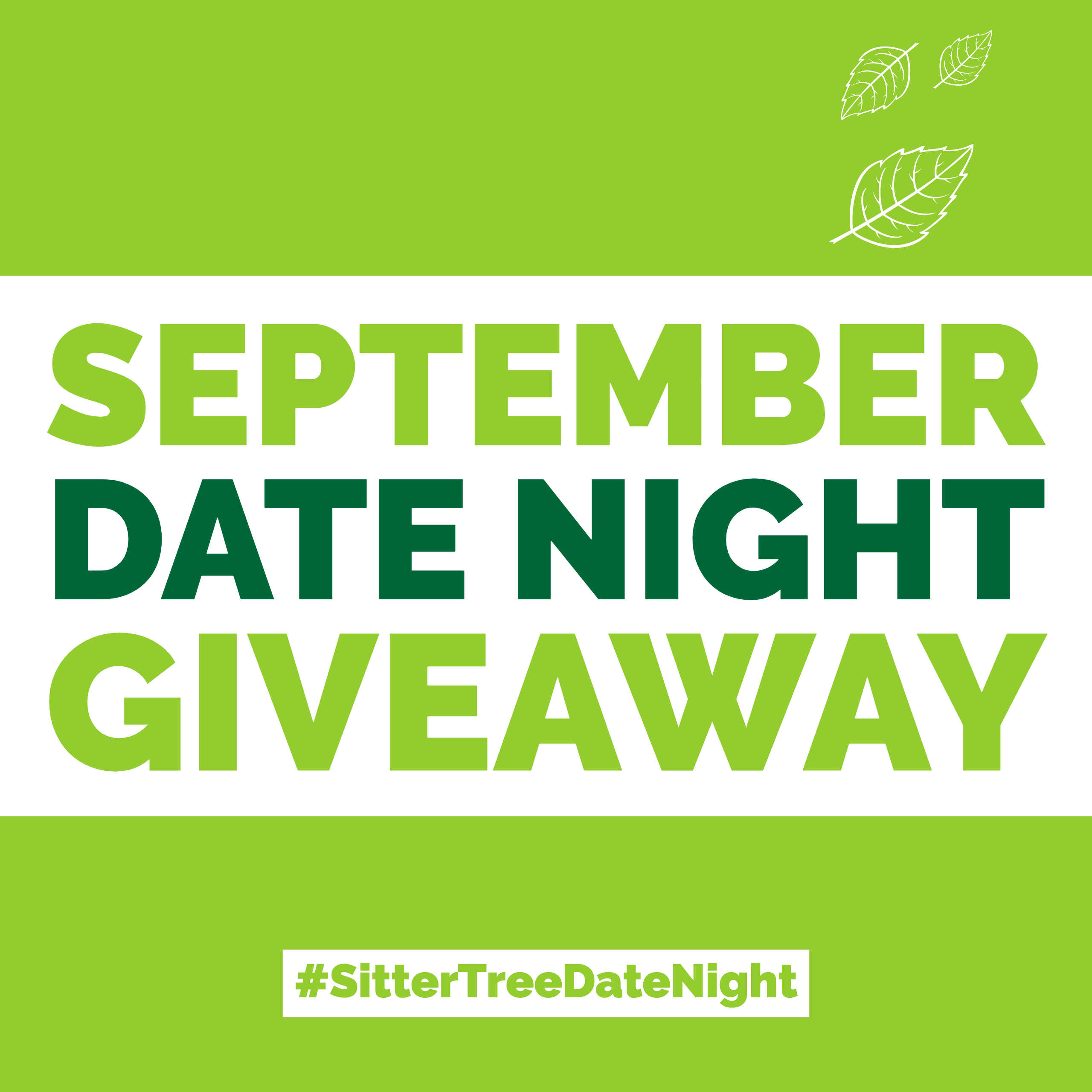 September Date Night Giveaway: FREE Babysitting + $100 Gift card