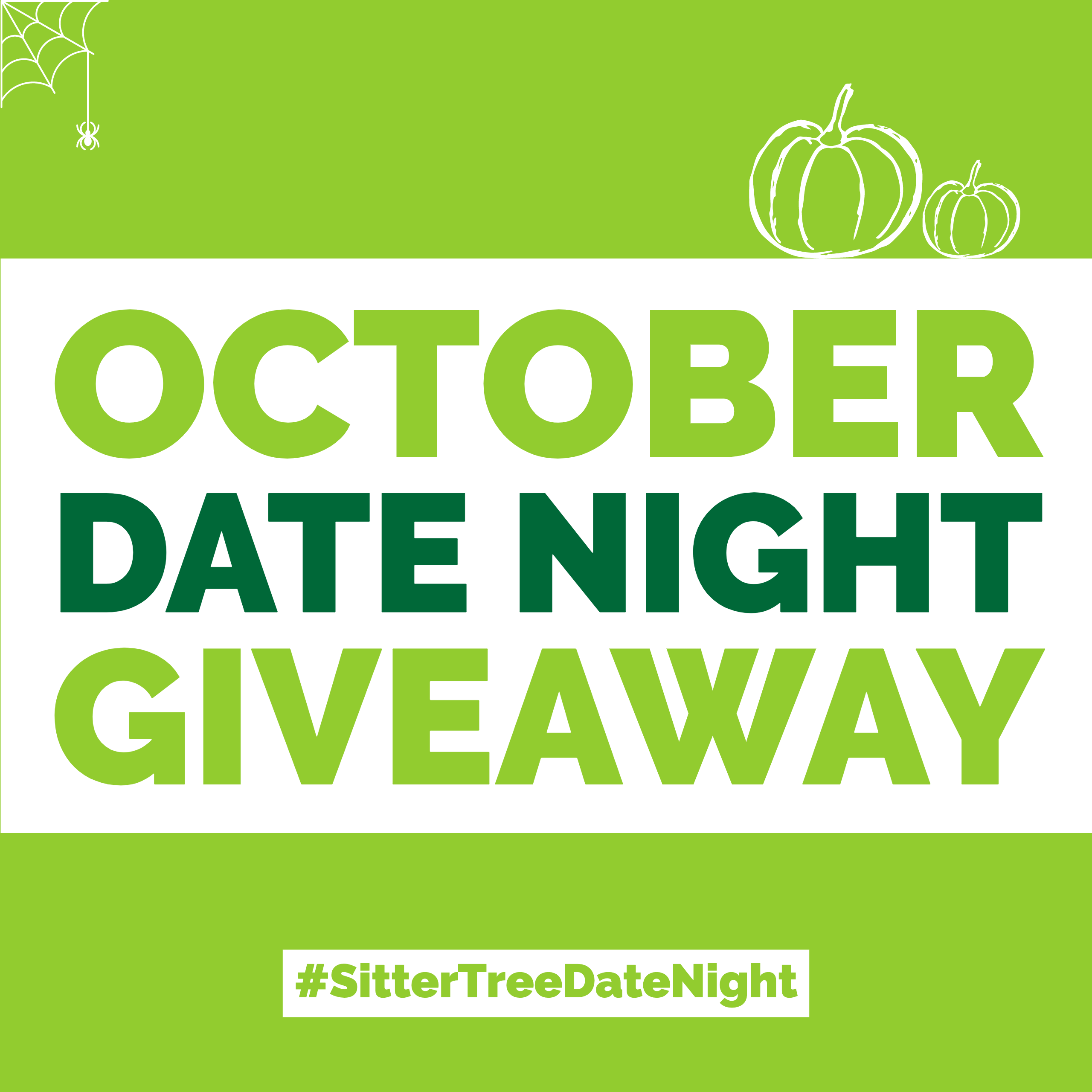 October Date Night Giveaway: FREE Babysitting + $100 Gift card